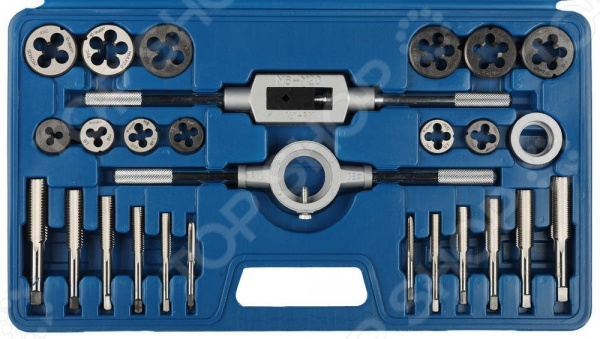 Набор резьбонарезного инструмента Зубр «Мастер» 28123-H27 набор метчиков 14х2мм 2 шт fit 70852