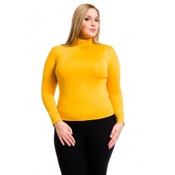 фото Водолазка Mondigo XL 146. Цвет: ярко-горчичный. Размер одежды: 48