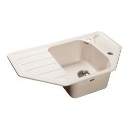 Купить Мойка кухонная GranFest Corner GF-C800E. Цвет: белый