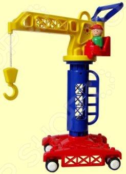 Строительный кран игрушечный Форма «ДС». В ассортиментеМашинки<br>Товар продается в ассортименте. Вид товара при комплектации заказа зависит от наличия товарного ассортимента на складе. Строительный кран игрушечный Форма ДС - яркая и красочная модель, которая станет отличным подарком для любого мальчика. С такой замечательной игрушкой, юный строитель сможет разыгрывать различные ситуации из жизни строительной площадки. Подобные игры способствуют развитию фантазии, воображения памяти и мышления, кроме того позволяют ребенку с интересом проводить досуг. Выполнена машинка из качественного и безопасного пластика.<br>