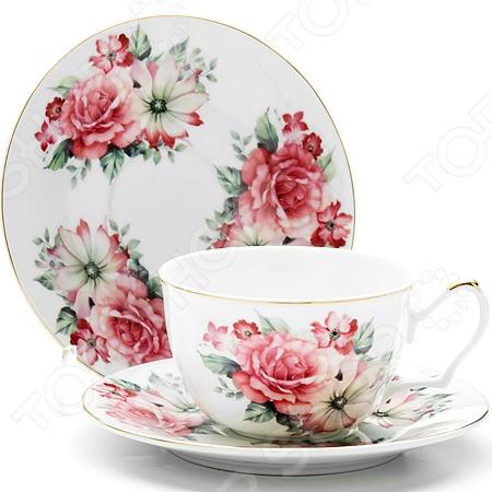 Чайная пара Loraine LR-24594 «Розы»