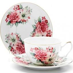 Купить Чайная пара Loraine LR-24594 «Розы»