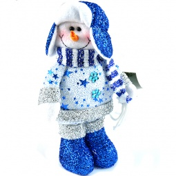 фото Игрушка новогодняя Новогодняя сказка «Снеговик» 949181