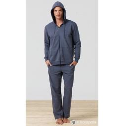 фото Толстовка домашняя мужская BlackSpade 7305. Цвет: антрацит меланж. Размер одежды: M