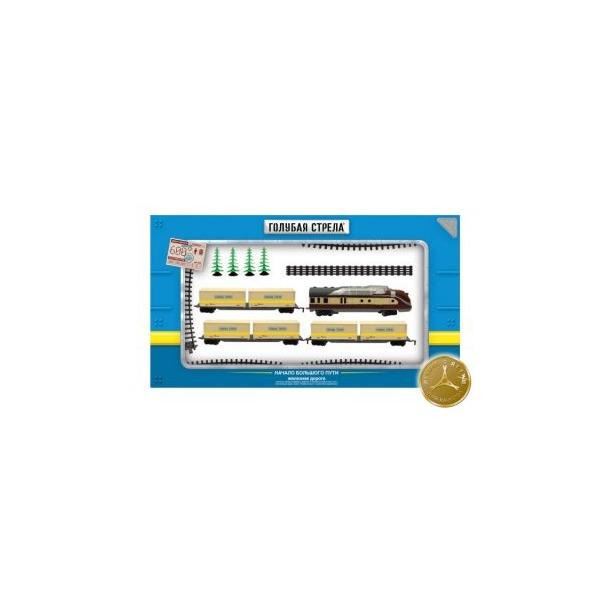 фото Набор железной дороги игрушечный Голубая стрела 87141