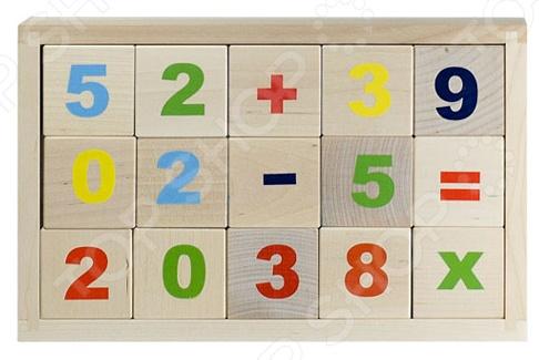 Кубики обучающие Alatoys «Цифры» КБЦ1500 1toy 1toy обучающие кубики кубики с животными