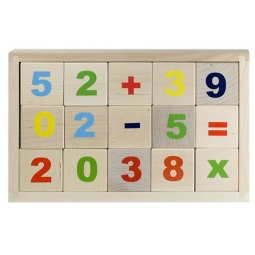 Купить Кубики обучающие Alatoys «Цифры» КБЦ1500