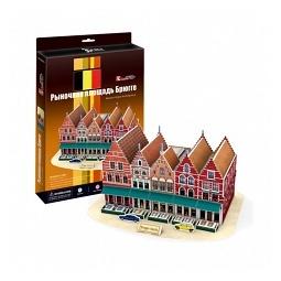 Купить Пазл 3D CubicFun «Рыночная площадь Брюгге»