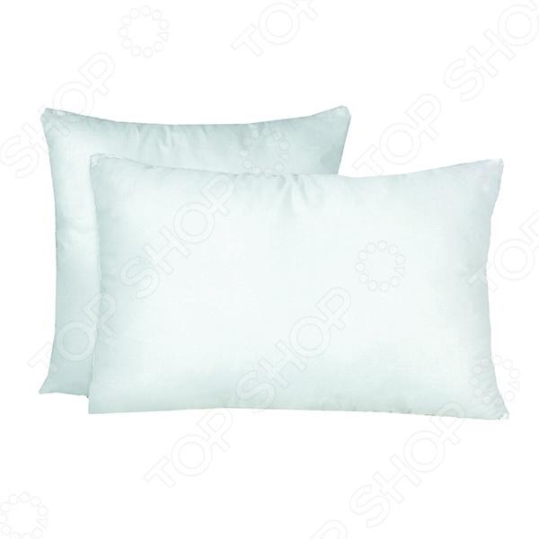 Подушка Primavelle ArctiqueКлассические подушки<br>Подушка Primavelle Arctique в чехле из белой хлопковой ткани с двойным слоем экофайбера идеально подходит для использования в холодный зимний период. Гипоаллергенный наполнитель по своим свойствам не уступает натуральному пуху, поэтому изделие отлично подходит как взрослым, так и детям. Изделие неприхотливо в уходе, легко стирается и быстро сохнет.<br>