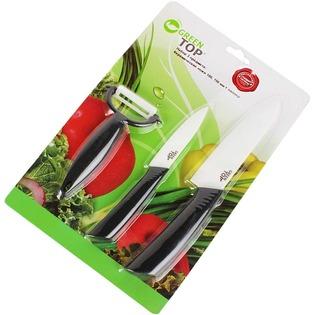 Купить Набор ножей керамических GreenTop 2P461-A02BL