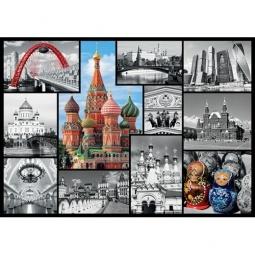 Купить Пазл 1000 элементов Trefl «Москва. Коллаж»