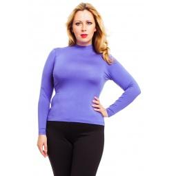 фото Водолазка Mondigo XL 036. Цвет: ярко-сиреневый. Размер одежды: 50