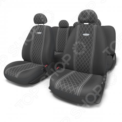 Набор чехлов для сидений Autoprofi GOB-1105 Cobelen комплект чехлов на весь салон autoprofi gobelen gob 1105 grey line m