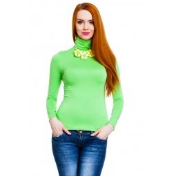 фото Водолазка Mondigo 046. Цвет: салатовый. Размер одежды: 42