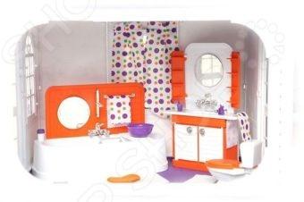 Мебель для куклы Огонек «Ванная комната» утюг galaxy gl6119 красный