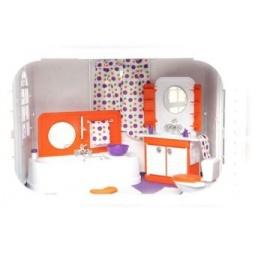 Купить Мебель для куклы Огонек «Ванная комната». В ассортименте