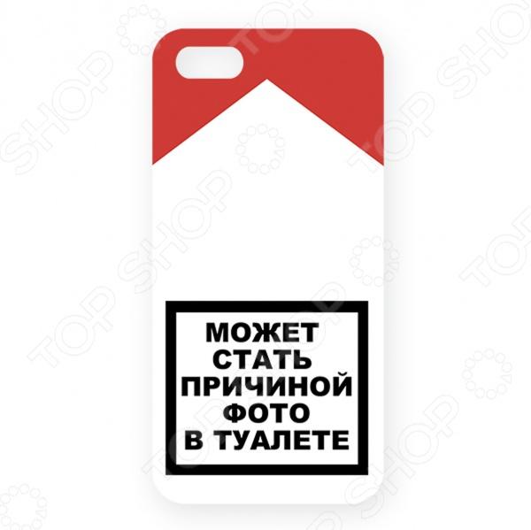 Чехол для iPhone 5 Mitya Veselkov «Может стать причиной..» чехол для iphone 5 printio с именем анна