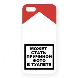 фото Чехол для iPhone 5 Mitya Veselkov «Может стать причиной...»