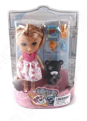 Набор игровой с куклой Shantou Gepai 86010Куклы<br>Набор игровой с куклой Shantou Gepai 86010 - станет прекрасным подарком для вашей девочки. Кукла одета вочаровательно платье, которое не оставит равнодушной ни одну девочку, а шикарные волосы куклы уложены в красивую прическу. В комплект входит фигурка питомца, а так же другие аксессуары, которые позволят разнообразить игровой процесс и сделать его еще более интересным и увлекательным. Игры с куклой способствуют развитию фантазии, воображения и абстрактного мышления. Играя в куклы, дети, как правило, копируют поведение взрослых общаются теми же словами, так же ухаживают, учат, воспитывают. Поэтому игры в куклы имеют важное значение для взросления ребенка и формирования его психики.<br>
