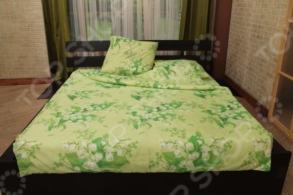 Комплект постельного белья Guten Morgen Ландыши. 1,5-спальный