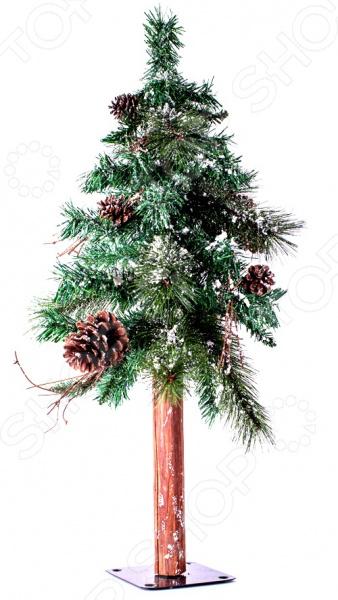 Сосна искусственная Crystal Trees «Европейская с шишками»Елки<br>Сосна искусственная Crystal Trees Европейская с шишками позволит вам создать чарующую атмосферу праздника в любом помещении. Ведь елка это необходимый атрибут Нового Года и Рождества. С помощью искусственной сосны вы сможете воссоздать волшебный дух новогодних праздников. А самое главное, что, используя искусственное дерево, вы позаботитесь об окружающей среде, ведь теперь не придется срубать настоящую живую сосну. А еще такое новогоднее дерево это просто находка для людей, страдающих аллергией. Ведь гипоаллергенный материал, из которого выполнено дерево, не только экологичен, но и не вызывает аллергических реакций. Преимущества декоративной сосны:  экономия денег можно использовать не один год подряд;  безопасность иголки не будут осыпаться, так что никто не поранится особенно это актуально для семей, где есть маленькие дети ;  красота выглядит даже лучше, чем натуральная ель, которая зачастую лишена большого количества веточек и иголочек.<br>