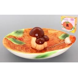 Купить Блюдо Elan Gallery «Грибы» 110703