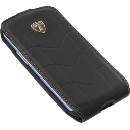 фото Чехол Lambordghini Cover Aventador D1 для iPhone 4S. Цвет: черный
