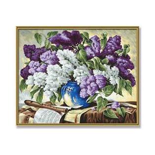 Купить Набор для рисования по номерам Schipper «Сирень в вазе»