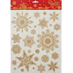 фото Пленка декоративная для окна Феникс-Презент 31246 «Снежинки 1»
