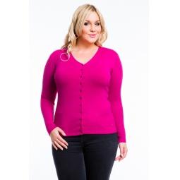 фото Жакет Mondigo XL 9130. Цвет: малиновый. Размер одежды: 52