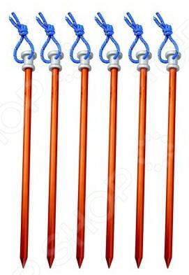Набор колышков AceCamp 2719 набор крючков светящихся к растяжкам acecamp 9106