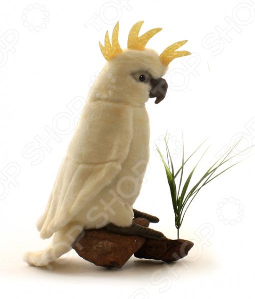 Мягкая игрушка для ребенка Hansa «Большой белохохлый какаду»