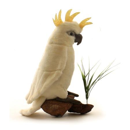 Купить Мягкая игрушка для ребенка Hansa «Большой белохохлый какаду»