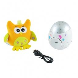 фото Ночник-проектор для ребенка Roxy-Kids Colibri с совой