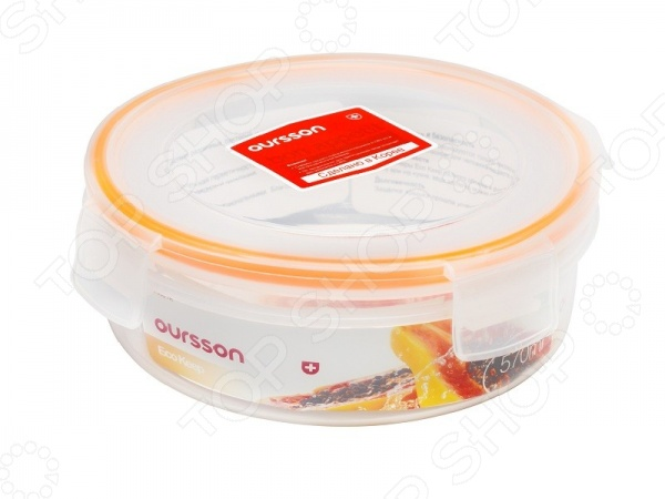 Контейнер для хранения продуктов Oursson Eco Keep CP0601R/TO контейнер для хранения продуктов oursson cp 2300