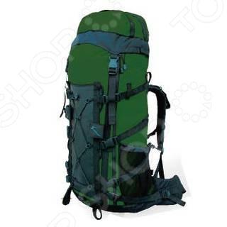 Рюкзак туристический WoodLand Wave 100+15Туристические рюкзаки и аксессуары<br>Рюкзак туристический WoodLand Wave 100 15 предназначен для людей, которые ведут активный образ жизни. Поездка на рыбалку, выезд в лес на пикник или пешие походы в горы любое из этих мероприятий требует тщательной подготовки, сбора определенных вещей, принадлежностей или аксессуаров. На помощь приходят сумки, мешки и рюкзаки. Предлагаемая модель обладает целым рядом преимуществ, среди которых не только привлекательный внешний вид и современный дизайн. Рюкзак туристический WoodLand Wave 100 15 оснащен боковыми кармашками для мелочей и съемным клапаном с внешним и внутренним карманами. В основное отделение можно попасть сверху и сбоку. Компрессионные стяжки позволяют регулировать объем и балансировать вес содержимого. Удобство переноски и правильное распределение нагрузки обеспечат регулируемые плечевые лямки, грудная стяжка с резиновым компенсатором и поясной ремень с широкими крыльями. Жесткая подвесная система с алюминиевыми шинами отлично фиксирует рюкзак на спине, а система вентиляции обеспечит комфортное использование даже в самых суровых условиях.<br>