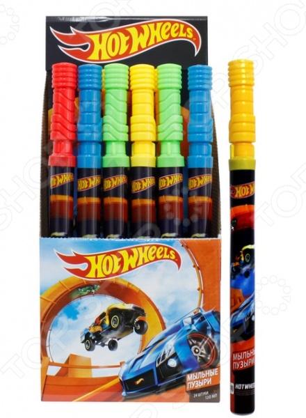 Мыльные пузыри 1 Toy Hot Wheels. В ассортиментеМыльные пузыри<br>Товар продается в ассортименте. Цвет изделия при комплектации заказа зависит от наличия товарного ассортимента на складе. Мыльные пузыри 1 Toy Hot Wheels это замечательный подарок для вашего малыша! Что может быть увлекательнее, чем выдувать мыльные пузыри и наблюдать за тем, как они парят в воздухе Переливаясь в лучах солнца, большие или маленькие невесомые шарики дарят радость и хорошее настроение не только ребенку, но и его родителям. Мыльные пузыри будут хорошим дополнением к праздничному мероприятию, например, детскому утреннику или Дню Рождения. Колба покрыта термопленкой с тематическим рисунком. Объем составляет 120 мл.<br>