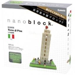 Купить Мини-конструктор Nanoblock «Пизанская башня»