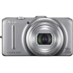 фото Фотокамера цифровая Nikon CoolPix S9300. Цвет: серебристый