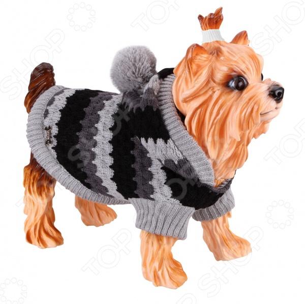 Свитер-попона для собак DEZZIE 563579 свитер для собак dezzie 561500 цвет черный