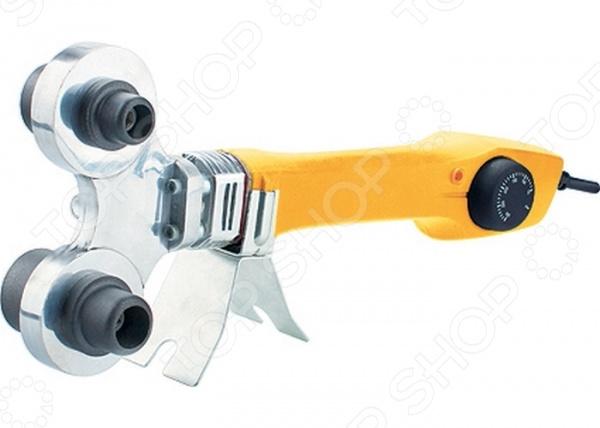 Аппарат для сварки пластиковых труб Denzel DWP-750Сварочные аппараты<br>Аппарат для сварки пластиковых труб Denzel DWP-750 прибор, используемый для пайки пластмассовых полиэтиленовых и полипропиленовых труб посредством температурного на них воздействия. Он предназначен для бытового применения и рассчитан на соединение монтажных, канализационных и водопроводных труб. В наборе к сварочному аппарату идет комплект сменных насадок для труб различного диаметра 20, 25, 32 и 40 мм . Для предотвращения налипания пластика к поверхности, насадки снабжены тефлоновым покрытием. Набор упакован в удобный металлический кейс.<br>