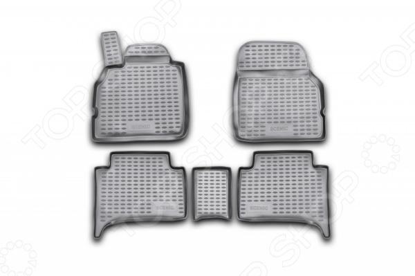 Комплект ковриков в салон автомобиля Novline-Autofamily Renault Scenic II 2003Коврики в салон<br>Комплект ковриков в салон автомобиля Novline Autofamily Renault Megane II 2002-2009, созданные для сохранения чистоты в салоне автомобиля. Обладают повышенной прочностью, износостойкостью и очень удобны в использовании. Эти коврики станут неотъемлемой частью вашего автомобильного интерьера. Края обработаны высокопрочной крученой нитью. Преимущества: новый полимерный материал, коврики оснащены фиксаторами, защита от западания педали газа, антискользящий рельеф, идеальная подходимость.<br>
