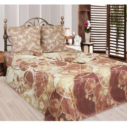 фото Комплект постельного белья Сова и Жаворонок «Латте Макиато». 2-спальный. Размер наволочки: 70х70 см — 2 шт