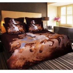 фото Комплект постельного белья Buenas Noches Koni. Satin Fotoprint. 2-спальный