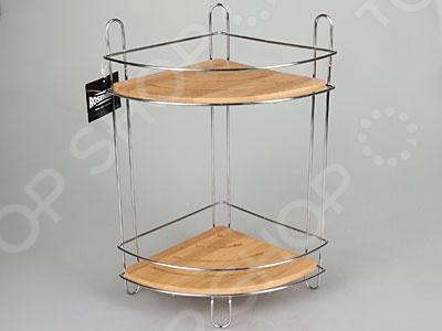 Полка для ванны угловая Rosenberg 75511Полки для ванной<br>Полка для ванны угловая Rosenberg 75511 поможет организовать пространство в вашей ванной комнате, ведь теперь все принадлежности будут располагаться на удобной полочке. При этом угловая конструкция изделия особенно подойдет для помещений малой площади. Металлический каркас обеспечит долгую и надежную службу полки.<br>