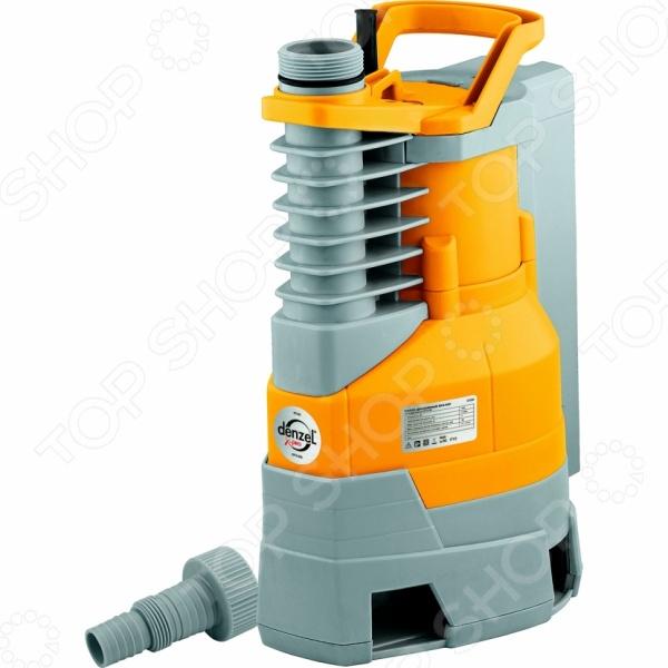 Насос дренажный Denzel DPX950 X-ProНасосы бытовые<br>Насос дренажный Denzel DPX950 X-Pro прибор, используемый для откачивания сточных вод из затопленных помещений и подвалов. Он также может применяться для орошения огородов и садов, подачи воды из колодцев, открытых водоемов и других источников. Максимальная высота подъема составляет 8,5 метров, а размер фильтруемых частиц 35 мм. Температура перекачиваемой воды не должна превышать 35 С, а температура окружающей среды 50 С. Степень защиты: IPX8.<br>
