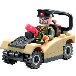 Купить Игровой конструктор Brick «Военный джип» 824