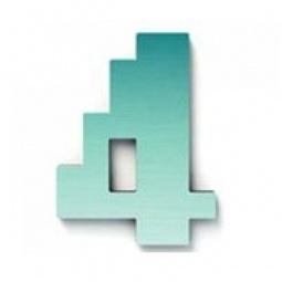фото Дверной номерок Студия Артемия Лебедева «Дигитус» 4. Цвет: голубой