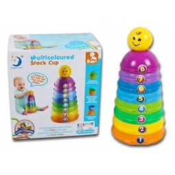 Купить Игрушка-пирамидка Shantou Gepai «Пирамидка Веселые чашечки»