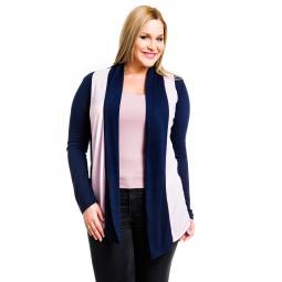 фото Кардиган Mondigo XL 8513. Цвет: темно-синий. Размер одежды: 52